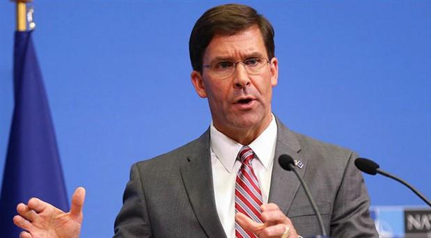 ABD Savunma Bakanı Vekili Esper'den açıklama: F-35 konusundaki duruşumuz değişmedi