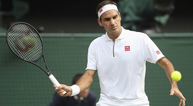 Roger Federer, Wimbledon'da finale yükseldi