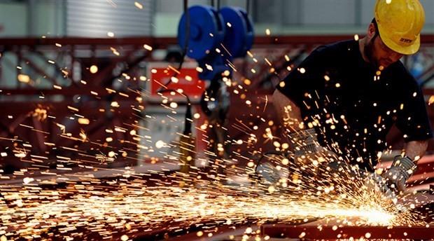Sanayi üretimi yüzde 1,3 azaldı