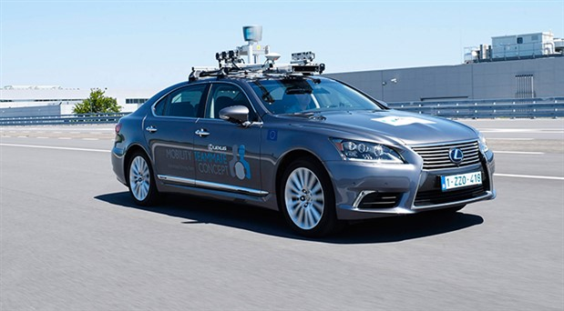 Trafikte otonom sürüş testi