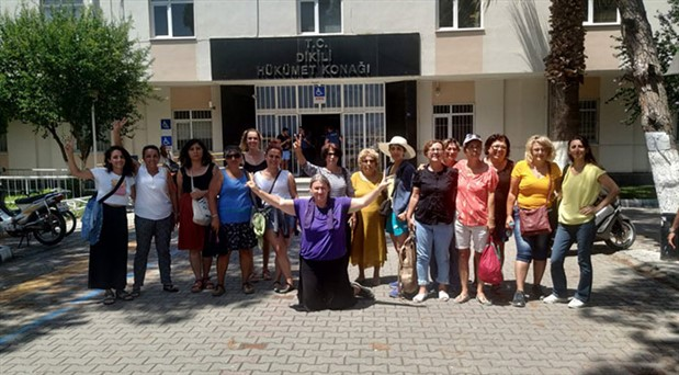 Kadın Savunma Ağı'nın Dikili'deki yaz kampına jandarma yasağı