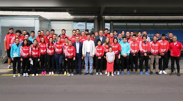 U20 Atletizm Milli Takımı Boras'ta