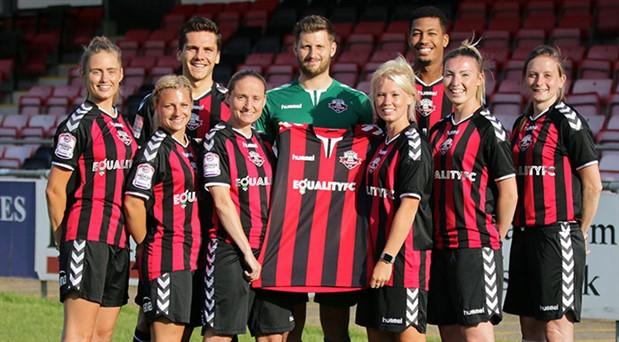 Kadın ve erkek takımına eşit ücret ödeyen kulüp: Lewes FC