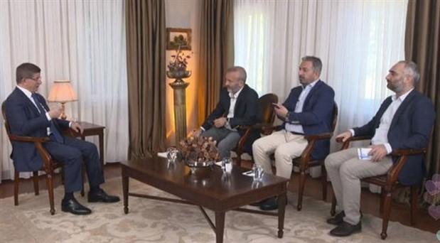 Davutoğlu'ndan programına son verilen gazetecilerle ilgili açıklama: Susmayacağız