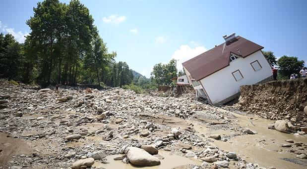 Düzce'deki sel felaketinde 1 kişinin cansız bedeni bulundu