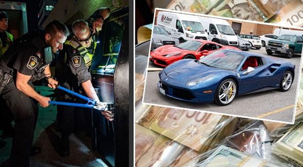 Kanada ve İtalya polisinden 48 noktaya mafya operasyonu