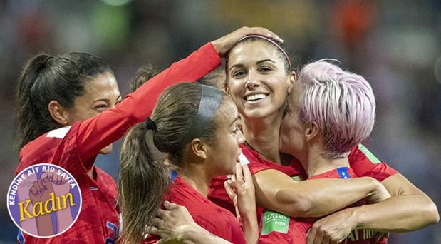 ABD'de kadın futbol takımı 4 kez Dünya Kupası aldı ama ücret eşitliğini gören yok