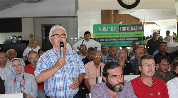 Uşak'ta çevreyi katleden madenlerle ilgili Bakanlık desteğiyle 'olumsuz algıyı kırma' paneli
