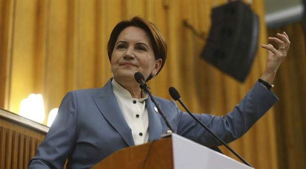 Akşener: Bakanlık teklifi dedikodusunu çıkaranlar AK Parti içindeki bir grup