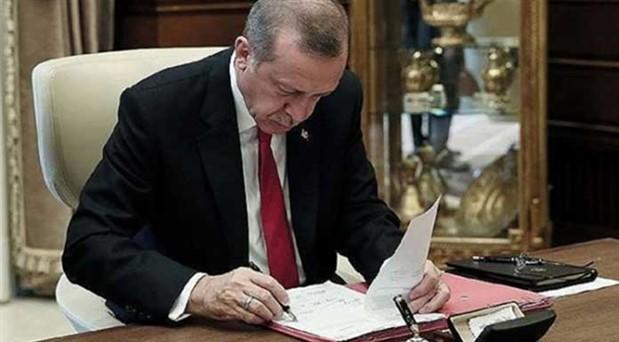 Erdoğan, Tarım ve Orman Bakanlığı'nda 3 müdürü görevden aldı