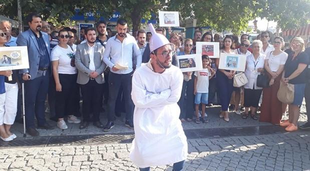 CHP'li gençlerden hunili eylem
