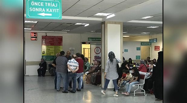 Fabrikada gıda zehirlenmesi: 54 işçi hastaneye kaldırıldı