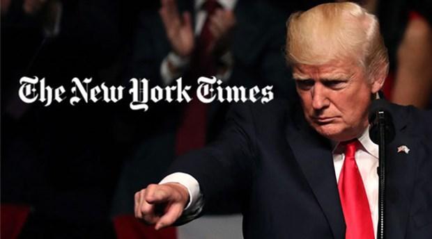 New York Times gelen tepkiler üzerine manşetini değiştirdi