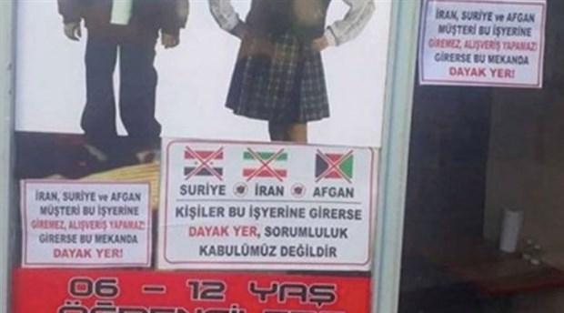 Dükkanına 'Suriyeliler giremez' yazısı asan esnaf para cezası alınca 'Pişmanım' dedi