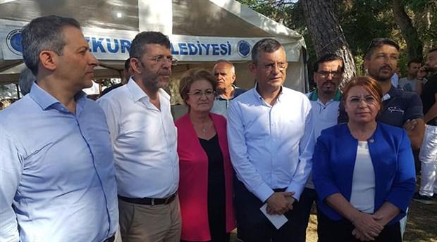 CHP'li Özel, Denizli'de deprem bölgesinde incelemelerde bulundu