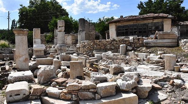 Gladyatörler kentinin Bizans mezarları geçmişe ışık tutuyor
