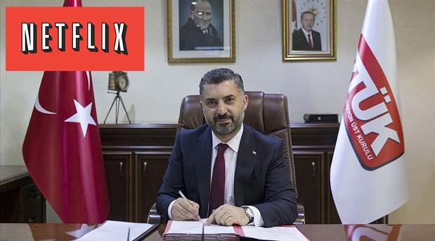 RTÜK Başkanı: Netflix ile iletişim içindeyiz