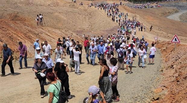 Nöbet kalabalığı bayramda arttı