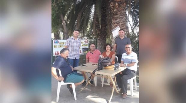 ÖDP'den direnişteki işçilere destek ziyareti
