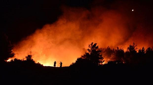 Deniz manzaralı rant yangınları çıkarılıyor