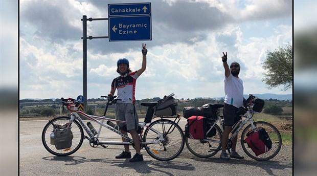 Engelsiz Pedallar, Kazdağları için pedallıyor