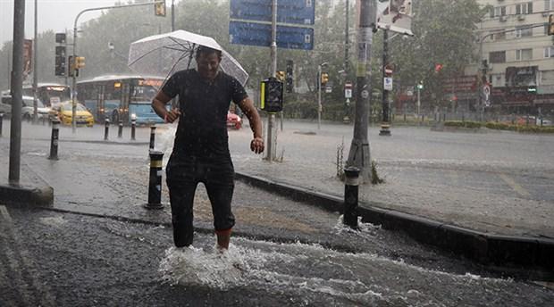 Meteoroloji'den Ankara'ya sağanak uyarısı
