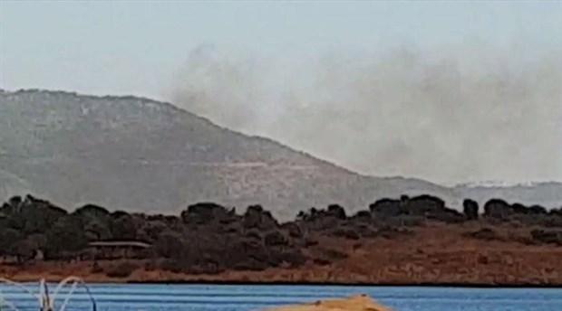 İzmir Gümüldür'de orman yangını