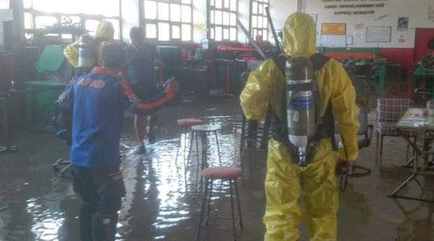Sakarya'da okulda 'zehirli gaz' paniği