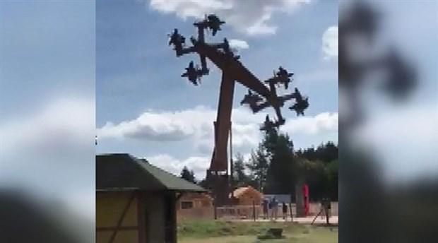 Almanya'da Svastika'ya benzeyen oyun makinesi tepki çekti