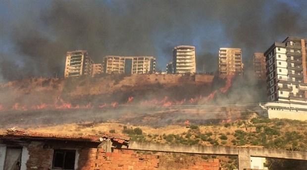 İzmir'de yine orman yangını