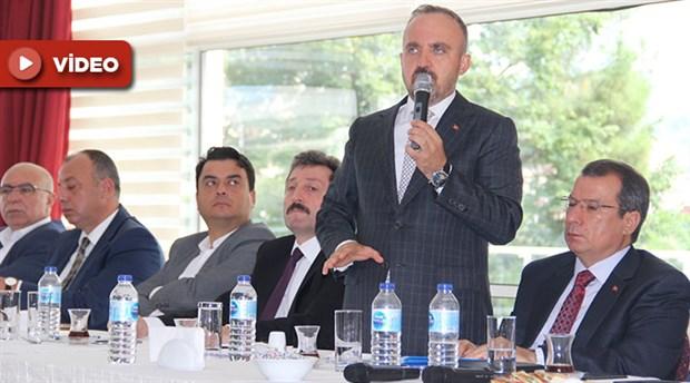 AKP'li Bülent Turan'dan Çanakkalelilere hakaret