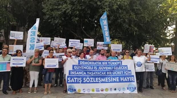 Muğla'da zam teklifi protestosu: Teklifin gerçekte karşılığı yok