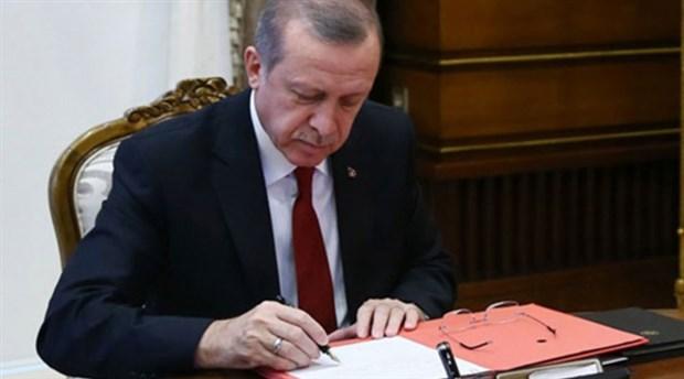 Erdoğan'dan MEB, Dışişleri ve bazı kurumlara atamalar