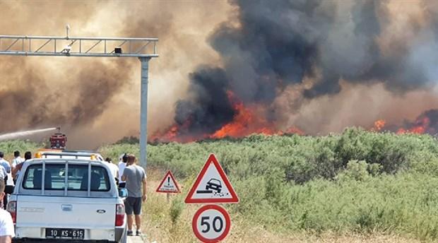 Yine orman yangını: Edremit ve Marmaris yanıyor