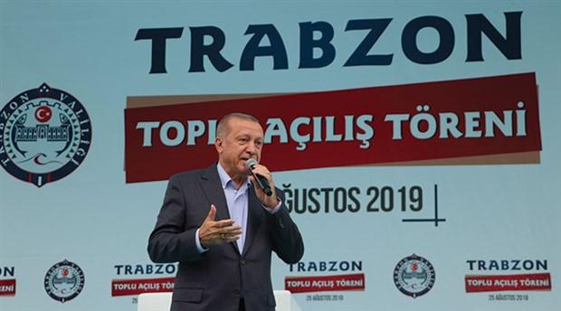 Erdoğan: İstanbul'un bölücü örgütün temsilcilerine peşkeş çekilmesine mani olacağız