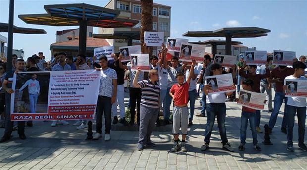 Kuryelerden Burak Demir için eylem: Kaza değil cinayet