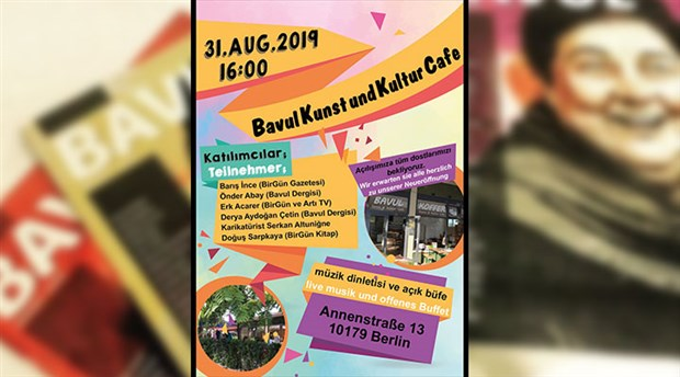 Bavul Kunst und Kultur Cafe açılıyor