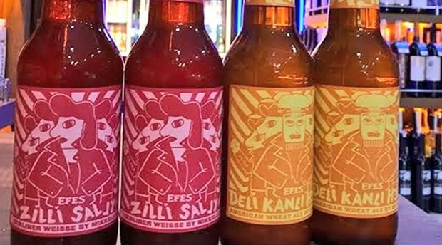 Efes'in yeni birası 'Zilli' ve 'Delikanlı' sosyal medyada gündem oldu