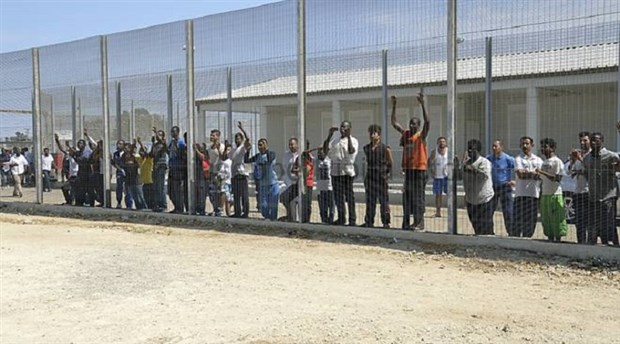 İtalya'da bir  zulüm kampı