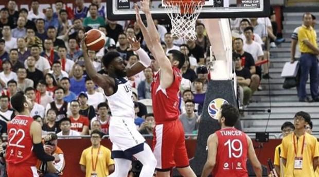 Türkiye A Milli Basketbol Takımı Dünya Kupası'na veda etti