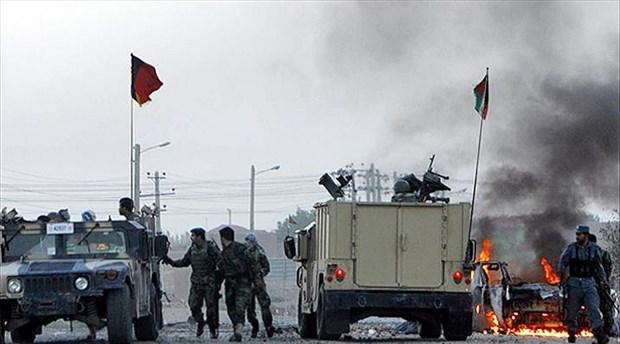 11 Eylül'ün ilk dakikalarında ABD'nin Afganistan'daki büyükelçiliği yakınlarında patlama