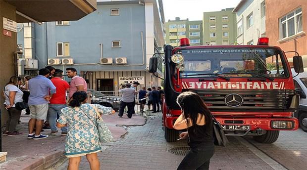 Ataşehir'de yangın paniği