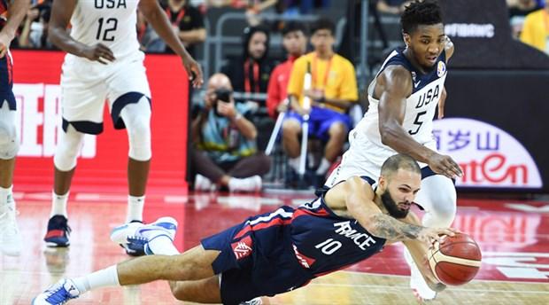 Fransa ABD'yi devirdi, yarı finale yükseldi