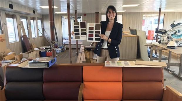 İBB sordu: Vapurlarımızın koltuk rengi ne olsun?