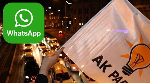 """""""AK Partililerin WhatsApp gruplarında kıyamet kopuyor"""""""