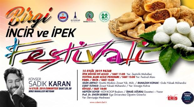 Ödemiş Birgi'de incir ve ipek festivali