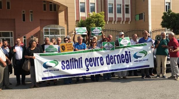 Salihli'de hukuk mücadelesi sürüyor