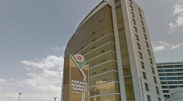 Ankara'da iş ve ticaret mahkemeleri arşivinde yangın