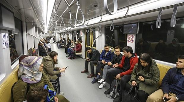 İBB, gece metrosundan yararlananların sayısını açıkladı