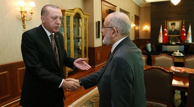 Erdoğan'dan Saadet Partisi'ne 'birleşelim' teklifi